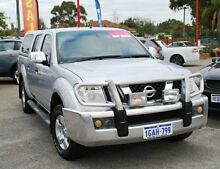 2007 Nissan Navara D40 ST-X Silver 6 Speed Manual Utility Bellevue Swan Area Preview