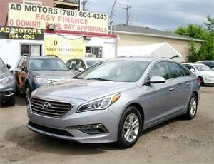NO ACCIDENT!! 2015 HYUNDAI SONATA SE AUTO STARTER SPORTY SEDAN..