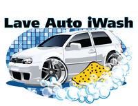 Lavage auto avec cire ou forfait complet d'esthétique auto