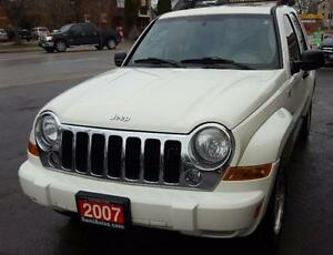 2007 Jeep Liberty Sport SUV, Crossover 2 YRSWAR LEATHER SUNROOF