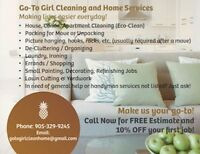 Go-To Girl Cleaning and Home Services