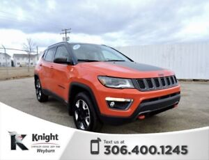 2018 Jeep Compass Trailhawk NAV Heated Leather Remote Start DVD