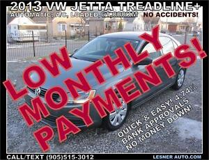 $3000 DOWN, $170 for 60 months! SALE$10680 -2013 VW JETTA