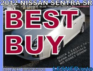 2012 NISSAN SENTRA SR -BLUE-TOOTH CC KEY-LESS -NO ACCIDENTS