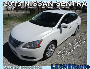 2013 NISSAN SENTRA -AUTO LOADED 86,KM- -NO-ACCIDENTS!