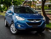2011 Hyundai ix35 LM MY11 Highlander AWD Blue 6 Speed Sports Automatic Wagon West Hindmarsh Charles Sturt Area Preview