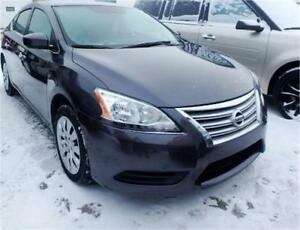 """ACTIVE/GREAT 4 UBER""  2015 NISSAN SENTRA PURE DRIVE AUTO SPORTY"