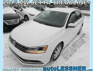 2015 VW JETTA -ZERO DOWN $239 for 60 months FINANCE TO OWN!
