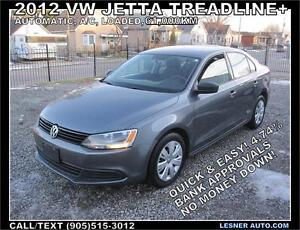 2013 VOLKSWAGEN JETTA TREADLINE+ AUTO, LOADED, 61,000KM!