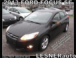 2013 FORD FOCUS SE HATCH -AUTO LOADED ALLOYS FOGS- NO ACCIDENTS!