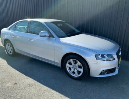 2009 Audi A4 B8 (8K) 1.8 TFSI Silver 6 Speed Manual Sedan Phillip Woden Valley Preview