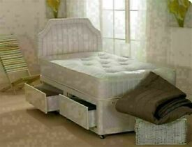 ⭐🆕BEST SALES ON DIVAN BEDS IN ALL SIZES WITH STORAGE OPTION HEADBOARDS AND CHOICE OF MATTRESS
