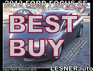 2013 FORD FOCUS SE -AUTO A/C LOADED- 61,KM -NO ACCIDENTS!