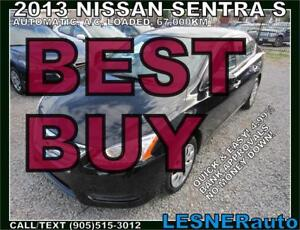 2013 NISSAN SENTRA S- --$124 for 60 months & $3000down!