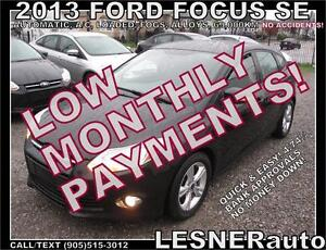 $3000 DOWN, $174 for 60 months! SALE$10880 -2013 FORD FOCUS SE