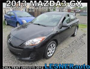 2013 MAZDA3 GX -AUTO LOADED 61,KM- LESNERdirect