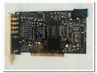 CREATIVE LABS DESKTOP GAMING GAME COMPUTER PC MODEL SB0460 SOUND BLASTER HIFI MUSIC 7.1 PCI CARD £19