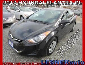 2013 HYUNDAI ELANTRA GL -AUTO LOADED 117,KM- NO-ACCIDENTS!