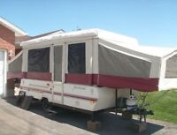 1993 ROCKWOOD 12'FT tent trailer (PARTS)