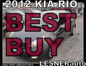 2012 KIA RIO -LX -AUTO A/C LOADED-  2010 2011 2013 2014 2015