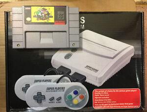 Super Nintendo System with Super Mario World Mario All Stars