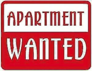 Wanted/ISO - one bedroom apartments for rent