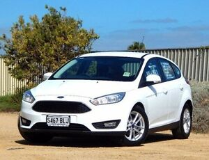 2016 Ford Focus LZ Trend White 6 Speed Automatic Hatchback Christies Beach Morphett Vale Area Preview