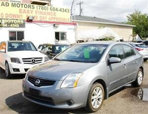 """NO ACCIDENT"" 2012 NISSAN SENTRA SL AUTO ONLY 72K-100% FINANCING"