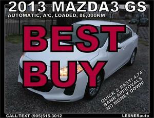 2013 MAZDA3 GS -ALLOYS BLUE-TOOTH- -( 2010 2011 2012 2014 2015 )