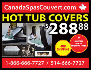 Hot Tub Spa Cover - FREE SHIPPING IN 48H