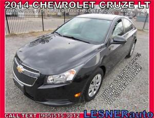 2014 CHEVROLET CRUZE LT -AUTO LOADED BACKUPCAMERA 64,KM-