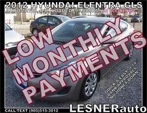 $3000 DOWN, $134 for 60 months! SALE$8980 -2012 HYUNDAI ELANTRA
