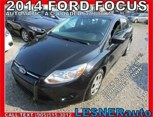 2014 FORD FOCUS S -AUTO LOADED 47,KM- -FACTORY WARRANTY