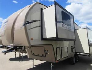 Small 5th wheel, tons of space!