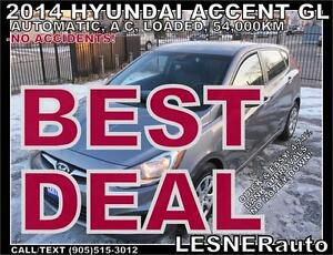 2014 HYUNDAI ACCENT-GL -NO ACCIDENTS! 2011 2012 2013 2015 2016