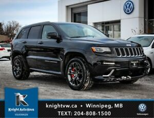 2016 Jeep Grand Cherokee SRT 8 w/ Nav/Sunroof/Lane Change Assist