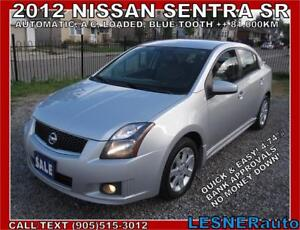 2012 NISSAN SENTRA SR-LOADED BLUE-TOOTH CC HEATED SEATS-