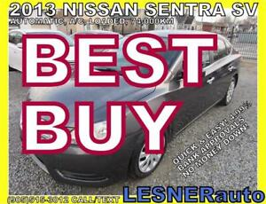2013 NISSAN SENTRA -AUTO LOADED 74,KM- -NO-ACCIDENTS!