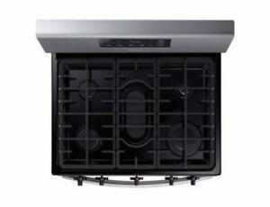 SAMSUNG NX58M3310SS 30 INCH FREESTANDING GAS RANGE ON SALE (NA 9)