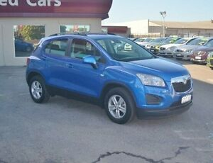 2014 Holden Trax TJ MY14 LS Blue 6 Speed Automatic Wagon Bayswater Bayswater Area Preview