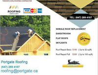 Roofing,Roof Repair/Eavestrough/Soffits/attic/shingle,Insulation