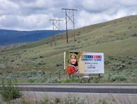 Advertise Your Business ~ Billboard for Rent.