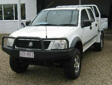 2005 Holden Rodeo RA MY05 LT Crew Cab White 5 Speed Manual Utility Bungalow Cairns City Preview