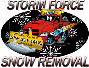 Storm Force Snow Removal Cambridge Kitchener Area image 1