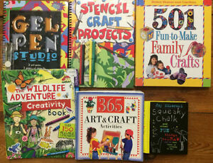 Great CRAFT BOOKS for Kids! 6 books for $15