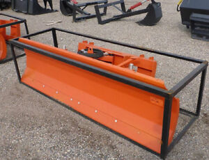 "NEW 86 "" SKID STEER ATTACHMENT SNOW PLOW DOZER BLADE ATTACHMENT"