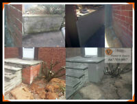 FOUNDATION PARGING & REPAIR AND EXTERIOR STUCCO!