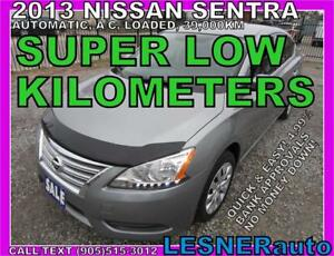 2013 NISSAN SENTRA -AUTO LOADED 39,KM- -NO-ACCIDENTS!