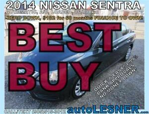 2014 NISSAN SENTRA S -AUTO A/C LOADED 86,000KM- ((BEST BUY))