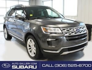 2018 Ford Explorer Limited   LEATHER   AWD  3.5L   3RD ROW   NAV
